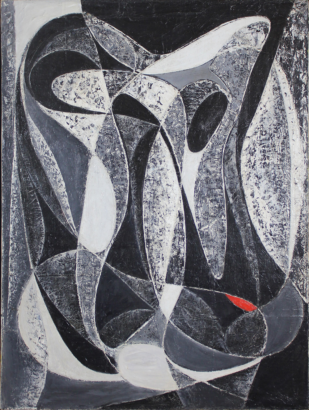 Black and White Color Flow, c. 1945