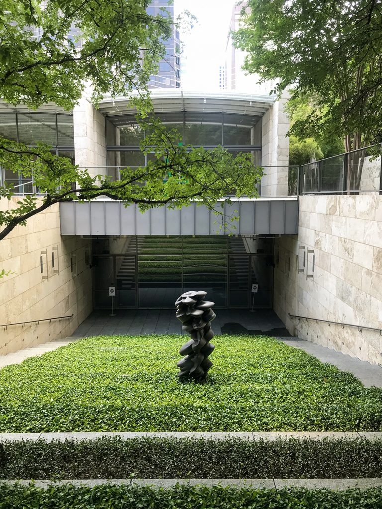 Luke Fowler, amphitheatre at the Nasher