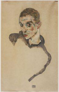 Egon Schiele, Self-Portrait 1914