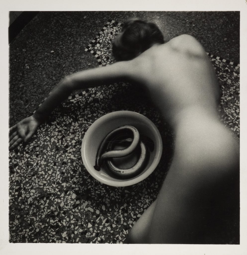 Francesca Woodman - Eel Series, Roma, May-August 1977